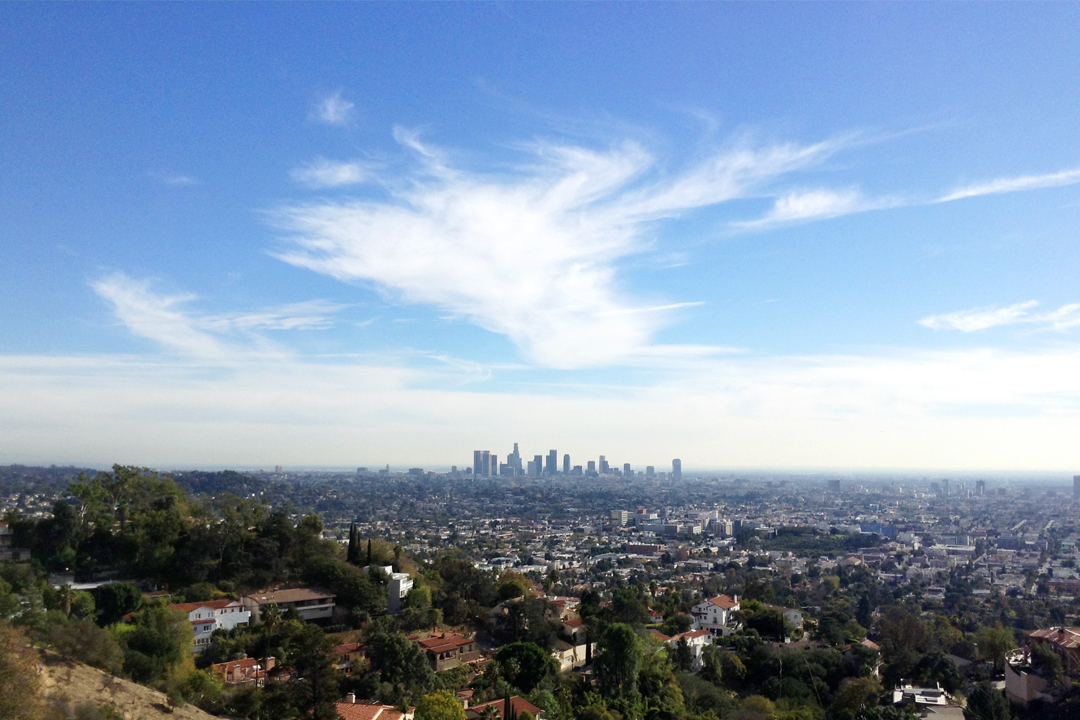 Los Angeles horizon