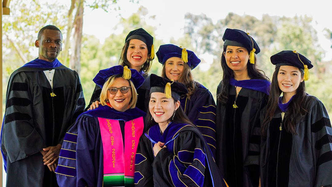 Seven complete UCI Ph.D. in urban and environmental planning and policy