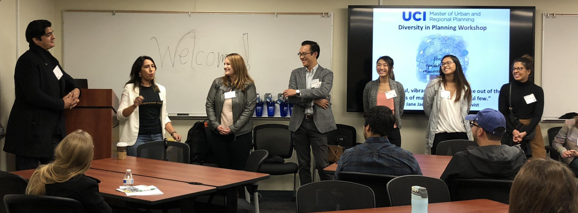 UCI Planning Alumni share perspectives on the planning profession with prospective students