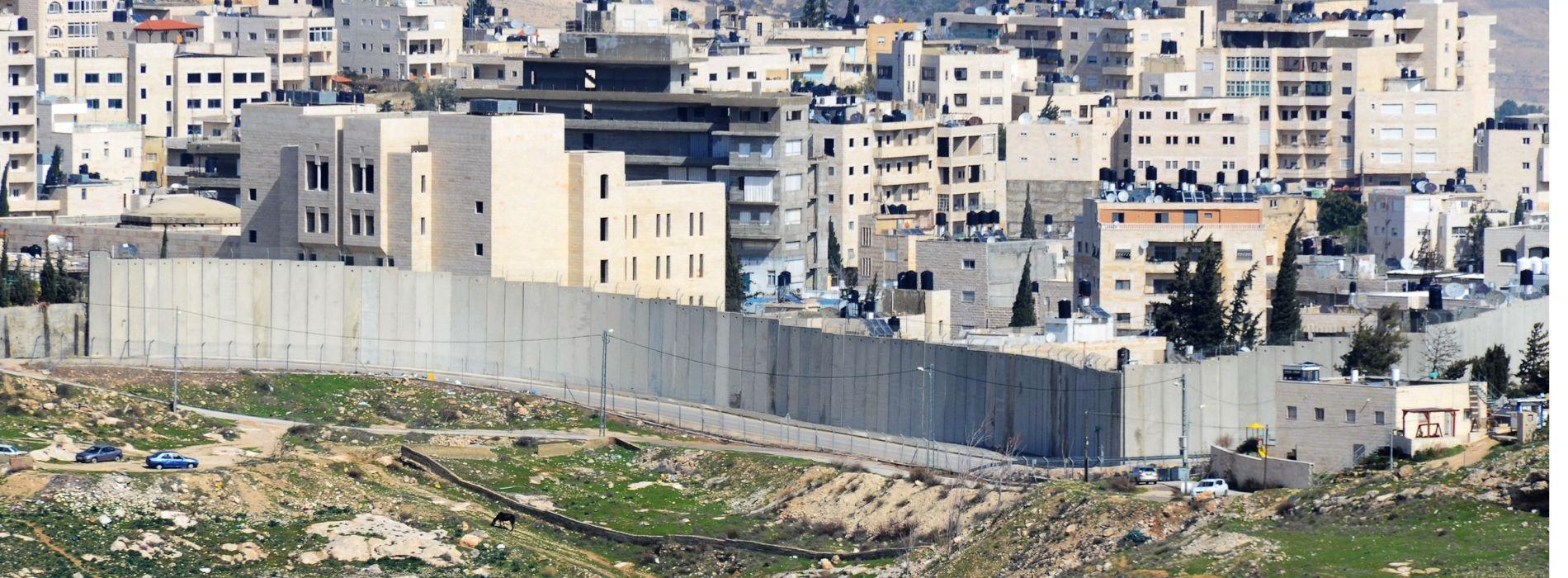 Israel West Bank Barrier